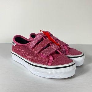 Vans Style 23 V Glitter Azalea Pink Sneakers